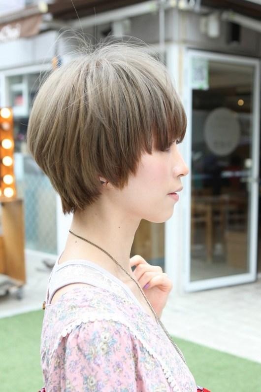 Trendy Asian Short Straight Haircut