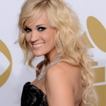 Carrie Underwood Long Curly Wavy Hairstyle for Women