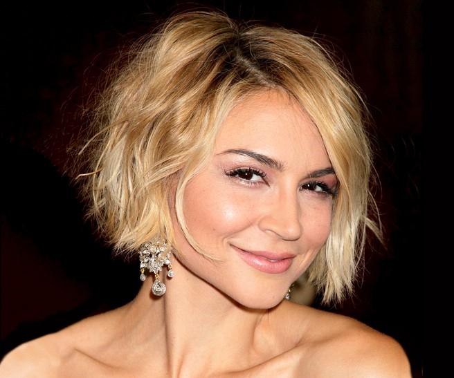 Chelsea Kane Chic Short Ombre Bob Haircut for Women
