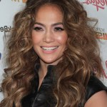 Jennifer Lopez long curly hairstyle
