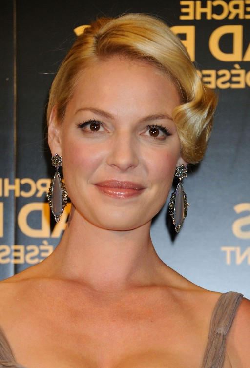 Katherine Heigl Elegant 1920's Bob with Wave