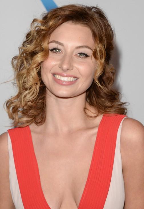 Aly Michalka Hairstyle - medium wavy hairstyle