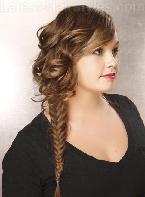 fishtail hair style