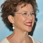 Short curly hairstyle for women over 50 - Annette Bening hairstyle