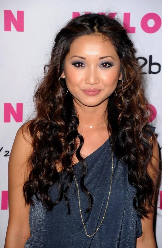 Long wavy curly hairstyles 2014 - Brenda Song hairstyles