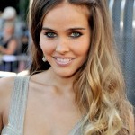 Sexy long wavy ombre hair - Isabel Lucas hairstyles