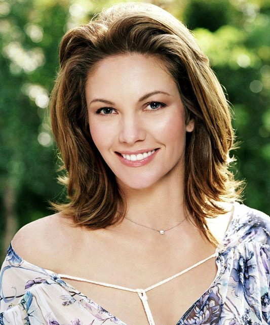 Best Medium Length Hairstyle for Thick Hair - Diane Lane's Hairstyle