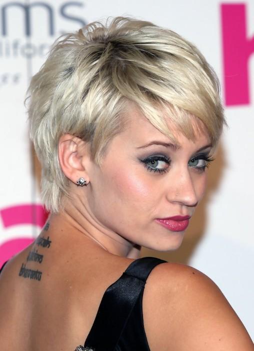 Short hairstyles 2014 - pixie cut - Kimberly Wyatt's hairstyles