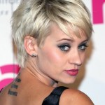 Short hairstyles 2014 - pixie cut - Kimberly Wyatt's hairstyles