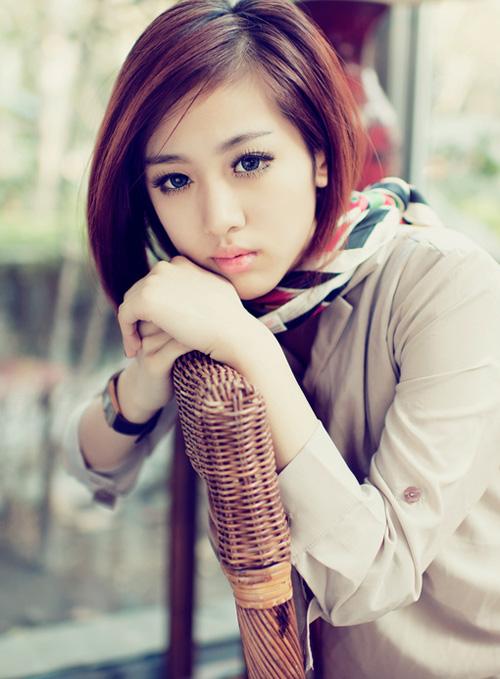 Most Popular Asian Short Haircut for Women 2014