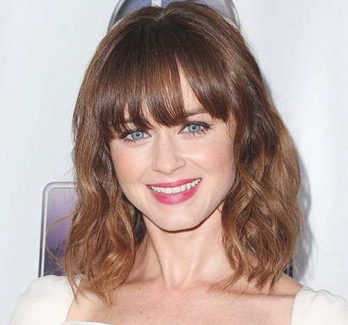 Popular wavy bob hairstyle for women 2014