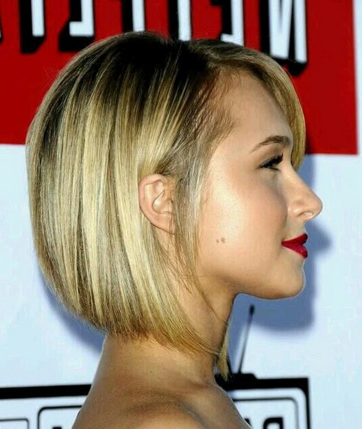 Stacked Bob Haircut Side View Easy Everyday Hairstyles For Short Hair 2018