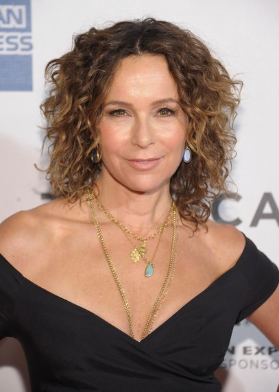 Jennifer Grey Short Hair Style for 2015 - Curly Hairstyle for Thick Hair