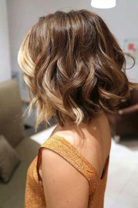 Pretty Short Ombre Hair for Asian Girls