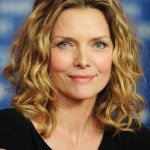 Michelle Pfeiffer - 2014 medium length wavy curly hairstyle for mature women over 50