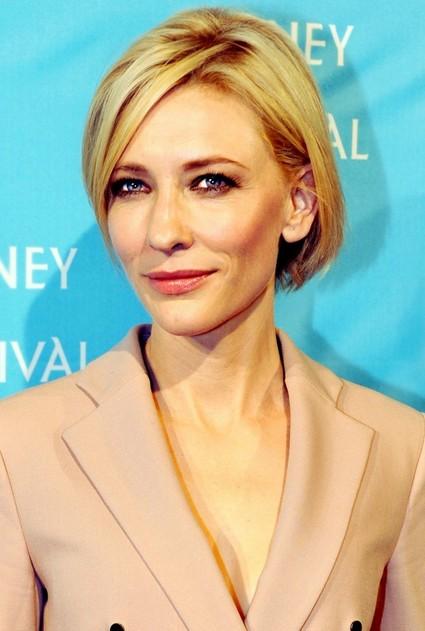 Cate Blanchett Short Bob Cut - Short blonde hairstyle for Women