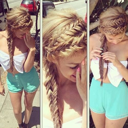 Gorgeous Braided Hairstyles for Girls (8)