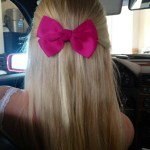Smart & Sassy Blonde with Bow