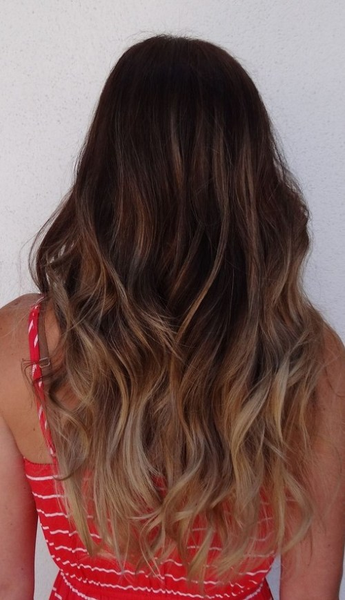 Dark Brown to Light Brown Ombre Hair Pinterest