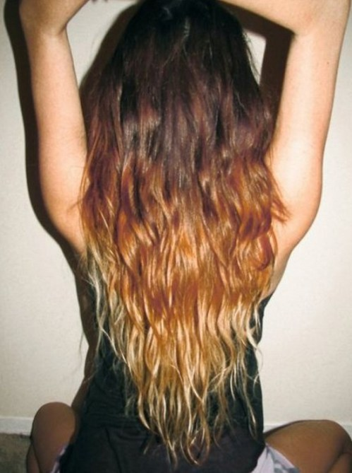 Ombre Hairstyles with Curls