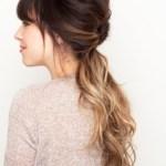 Spring Hairstyles 2014 Loose Ponytail