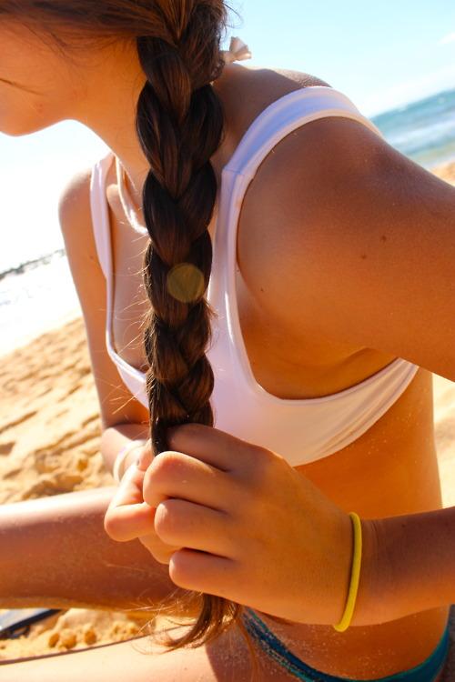 Summer Braid Simple Side Braid for Beautiful Beach Style