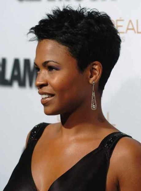 Celebrity Short Black Hairstyles for Women