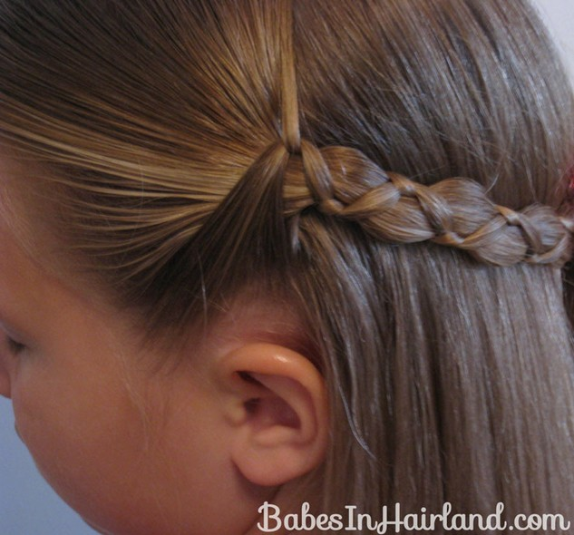Uneven 3 Strand Braid for Girls