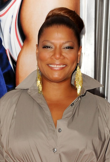 Classic Bun Updos for Round Faces - Queen Latifah's Hairstyles