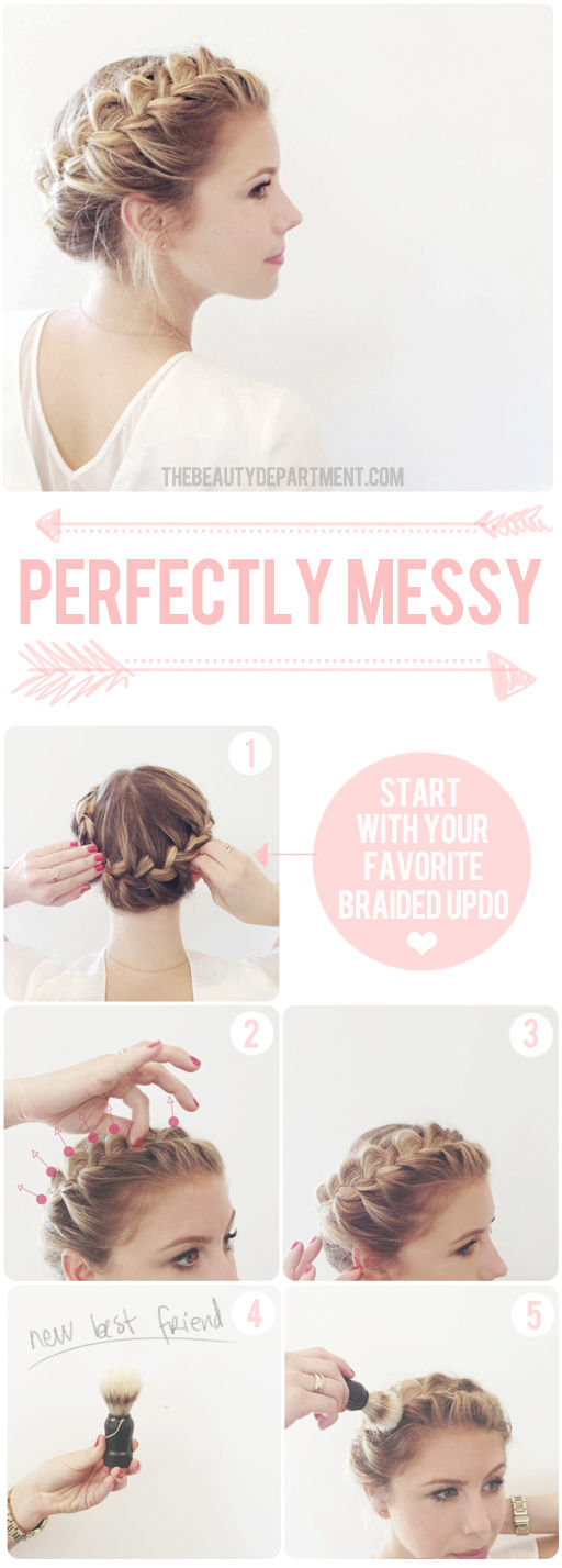 Hairstyles Tutorial: How to do Messy Braid for Spring