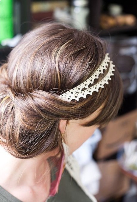 Low Chignon Updo for Women
