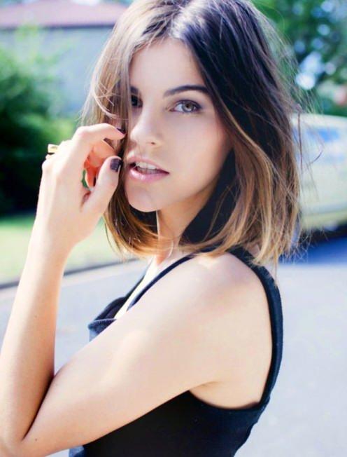 Pretty Short Ombre Hair for Women