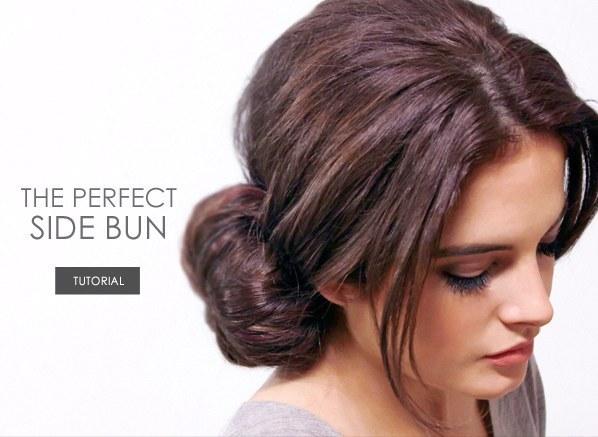 DIY Wedding Hairstyles: The Perfect Side Bun