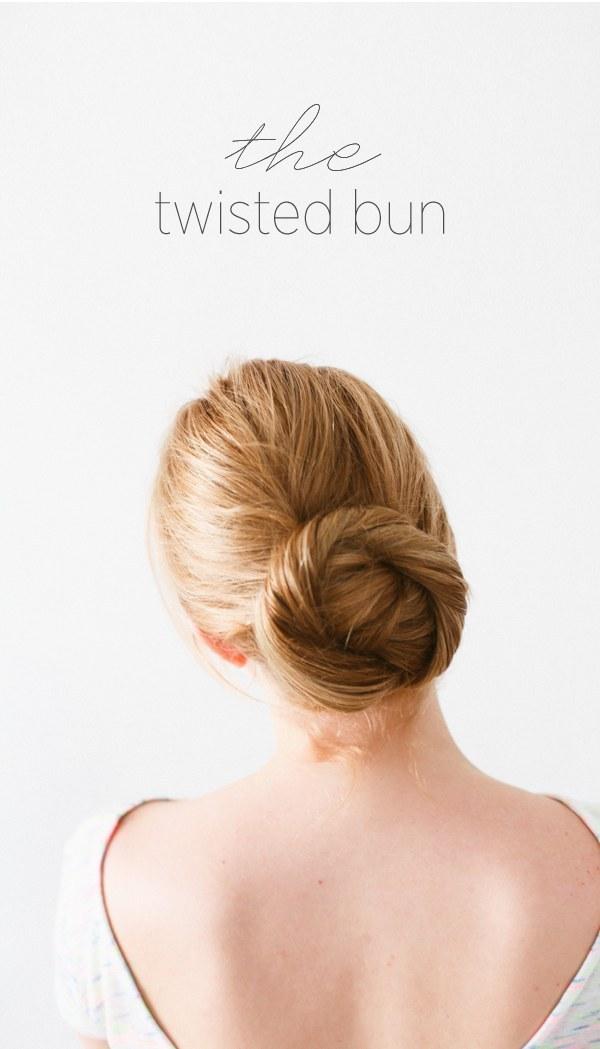 DIY Wedding Hairstyles: The Twisted Bun