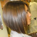 Best Graduated Angled Bob Haircut - Side View of Angled Bob Hairstyle