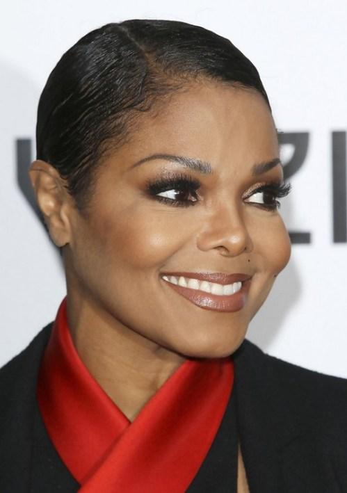 Janet Jackson Very Short Haircut for Black Women