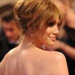 Celebrity updo hairstyles: Jennifer Lopez Loose Bun