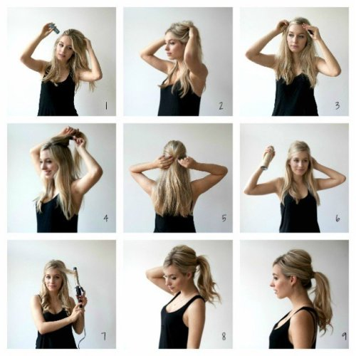 Ponytial Tutorials - Sexy Messy Ponytail for Summer