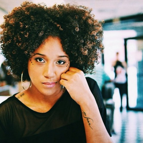 Sexy Afro American Curly Hairstyle for Women