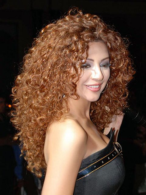 Sexy Long Curly Hairstyle for Women