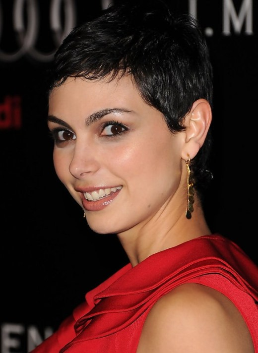 Morena Baccarin Easy Pixie Cut for 2015