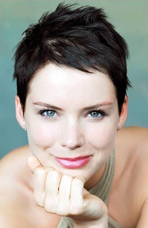 Super Short Pixie Cut for Women