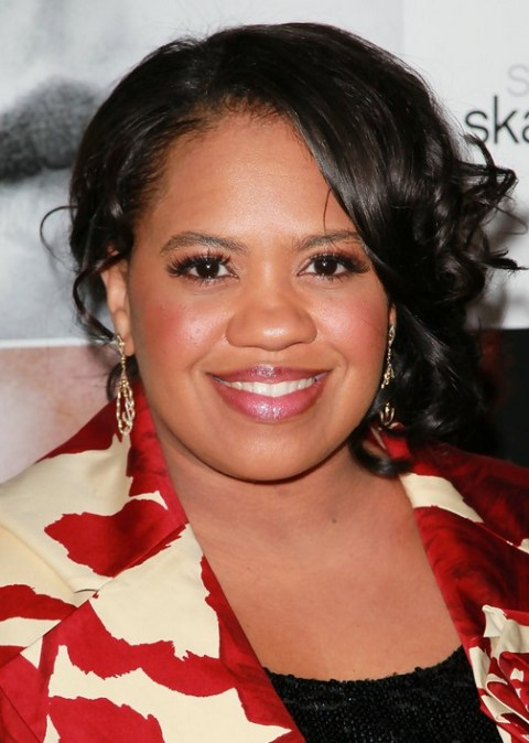 Chandra Wilson Formal Black Hairstyle for Black Women