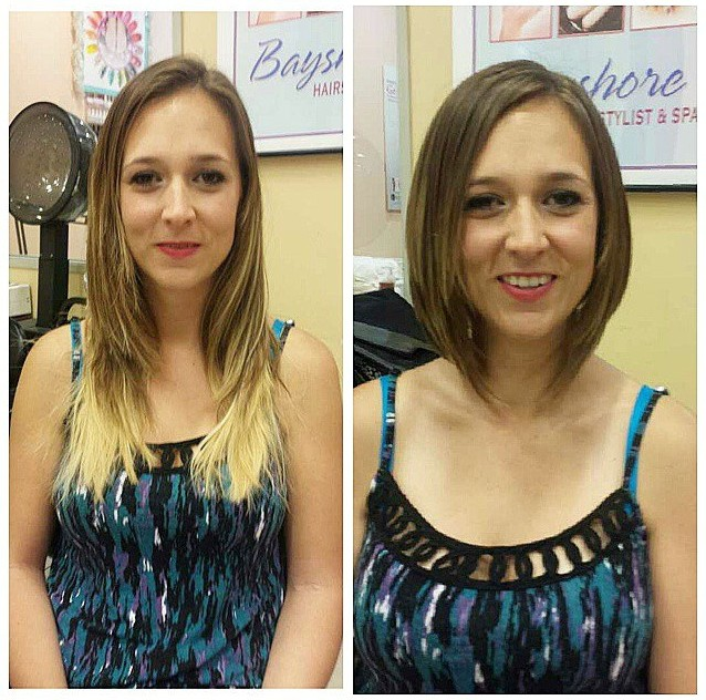 Chic Short Straight Bob Hairstyle for Women