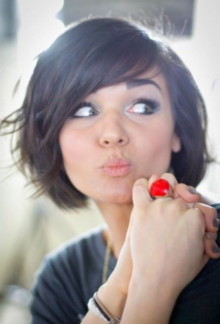 Cute Bob Hairstyle for Girls