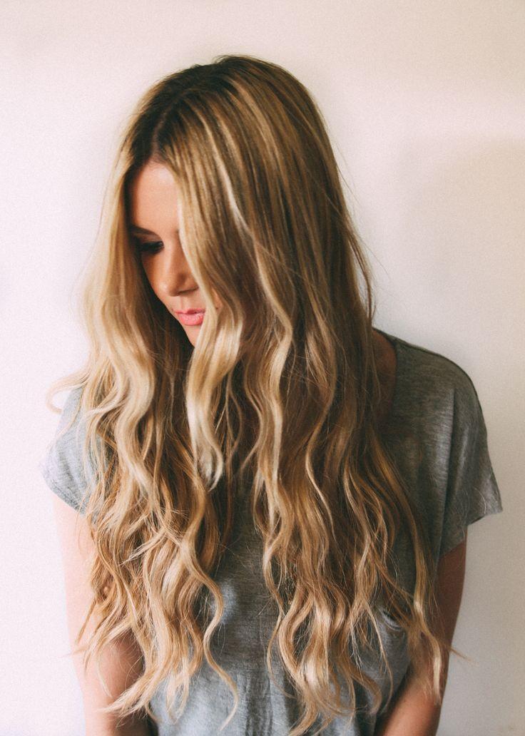 Long Beachy Wavy Hairstyels