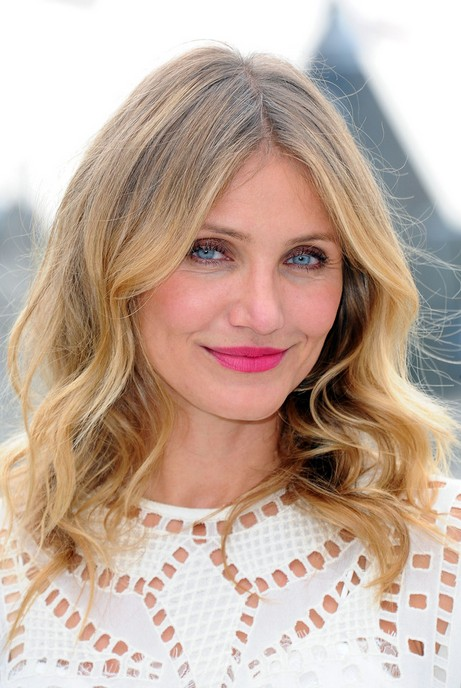 Cameron Diaz Hairstyles for Thick Hair
