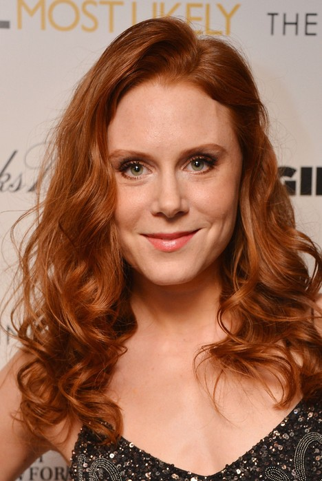Christiane Seidel Red Curly Hairstyle for Long Hair