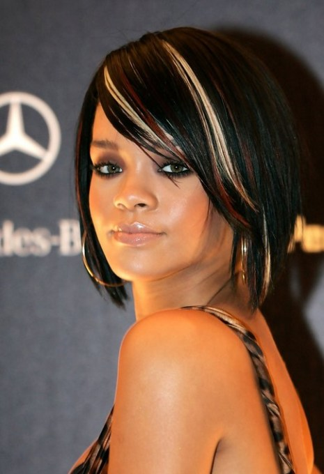Rihanna Trendy Short Hairstyles for Women