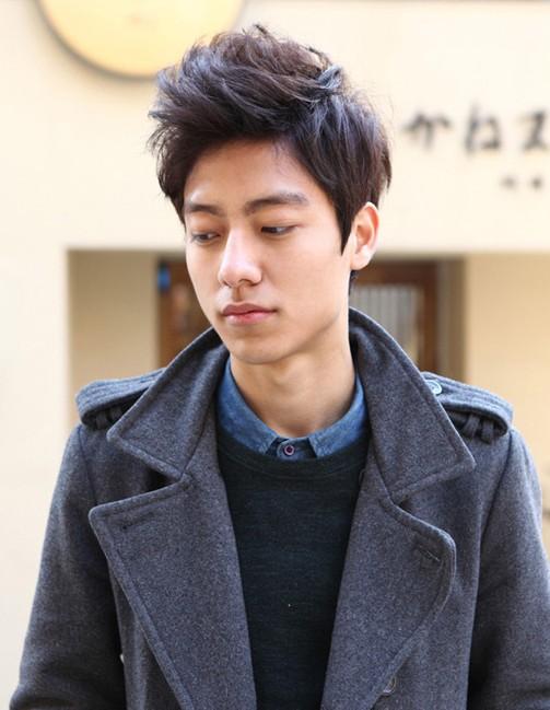 Cool Korean haircut for men